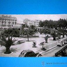 Postales: POSTAL PERPIGNAN, PLACE ARAGO, VUE DE L´HOTEL RÉGINA. CIRCULADA AÑO 1956. .. Lote 25005703