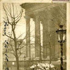 Postales: PARIS. MARCHANDE DE FLEURS. PLACE DE LA MADELEINE. Lote 25046619