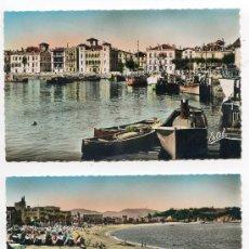 Cartoline: LOTE 7 POSTALES PAIS VASCO, SAINT JEAN DE LUZ, HENDAYE, BAYONNE, BIARRITZ. ESTEL PHOTO VERITABLE. Lote 25311903