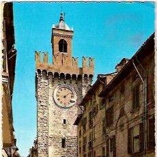 Postales: POSTAL A COLOR BRESCIA ITALIA LA TORRE DELLA PALLATA ESCRITA 1965. Lote 25389112