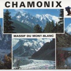Postales: CHAMONIX . MONT BLANC . (FRANCIA).. Lote 25629112