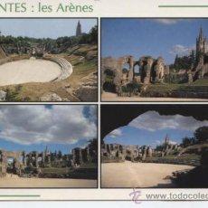 Postales: SAINTES (FRANCIA). LES ARENES. Lote 25629802