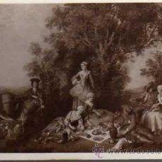 Postales: ANTIGUA POSTAL - MUSÉE DU LOUVRE - L'AUTOMME - N. LANCRET - I.L.M 4884 - ESCRITA EN 1924. Lote 25679903