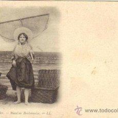 Postales: BOULOGNE SUR MER - MATELOTE BOULONNAISE. Lote 25943275