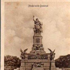 Postales: ANTIGUA POSTAL - .NEDERWALD-DENKMAL - ESTENGEL. Lote 25951770