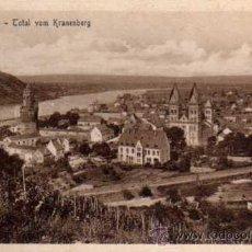 Postales: ANTIGUA POSTAL - .ANDERNACH - COTAL VOM KRANENBERG - ESTENGEL. Lote 25952247