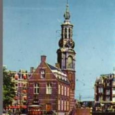 Postales: MINI POSTAL - AMSTERDAM - MINTTOWER - MEDIDAS 9 X 7 CENTIMETROS. Lote 25989107