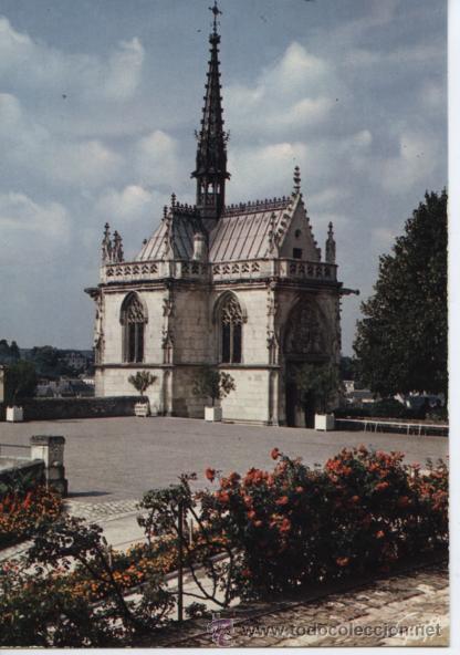 AMBOISE (FRANCIA). CHAPELLE ST. HUBERT (Postales - Postales Extranjero - Europa)