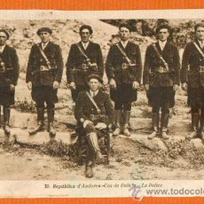Postales: REPUBLICA D' ANDORRA - COS DE POLICIA - LA POLICE - JOAN SALA FOTOGRAF. Lote 27412978