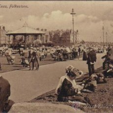 Postales: FOLKESTONE - THE LEAS. Lote 26061822