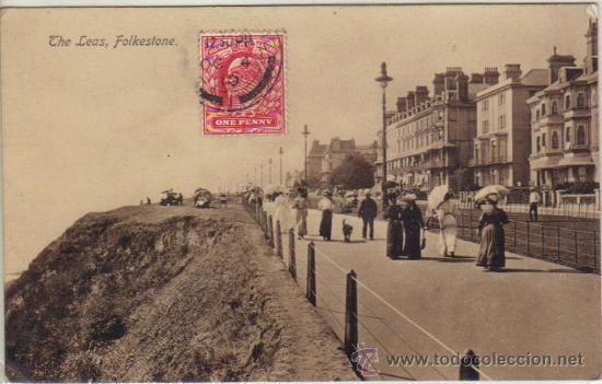 FOLKESTONE - THE LEAS (Postales - Postales Extranjero - Europa)