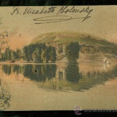 Postales: TARJETA POSTAL DE RUSIA FIRMADA POR LA PRINCESA ELISABETH OBOLENSKY.. Lote 26099765