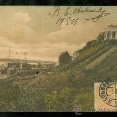 Postales: TARJETA POSTAL DE RUSIA FIRMADA POR LA PRINCESA ELISABETH OBOLENSKY.. Lote 26100134