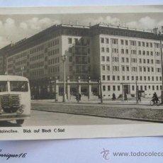 Postales: BERLIN STALINALLEE, BLICK AUF BLOCK C-SÜD. . Lote 26187525