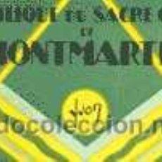 Postales: BASILIQUE DU SACRE COEUR DE MONTMARTRE. . Lote 26210585