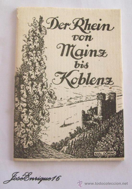 DER RHEIN VON MAINZ BIS KOBLENZ (Postales - Postales Extranjero - Europa)