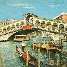 Postales: VENEZIA - PONTE DI RIALTO. Lote 26260647