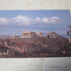 Postales: POSTAL LA ACROPOLIS ATENAS GRECIA. Lote 26269099