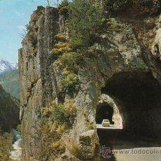Postales: ANDORRA, TUNEL DE LA MASSANA. Lote 26368694