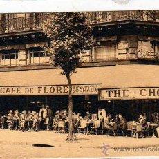 Postales: CAFE DE FLORE. PARIS. FRANCIA.. Lote 26527912