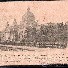Postales: TARJETA POSTAL DE GRUSS AUS LEIPZIG - REICHSGERECHT. Lote 26538928