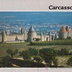 Postales: CARCASSONNE (AUDE), EL CASTILLO. Lote 26687012