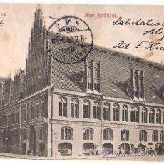 Postales: TARJETA POSTAL. ALEMANIA. HANNOVER. ALTES RATHHAUS. Nº 191.. Lote 26842855