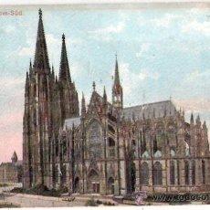 Postales: TARJETA POSTAL. ALEMANIA. KOLN A. RH. DOM-SUD. G. BLUMLEIN & CO.. Lote 26843112