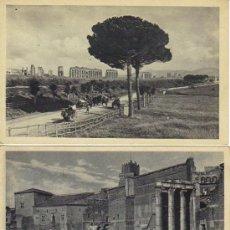 Postales: LOTE 15 POSTALES ROMA - MONUMENTOS DE ROMA. Lote 26881962