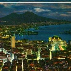 Postales: NAPOLI DI NOTTE PANORAMA DE S. MARTINO ESCRITA CIRCULADA CON SELLO. Lote 26981279