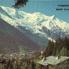 Postales: CHAMONIX MONT-BLANC - HAUTE SAVOIE - EDITIONS ARORE. Lote 26995467