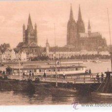 Postales: TARJETA POSTAL. ALEMANIA. KOLN A. RH. EDUARD HOLZERMANN.. Lote 27773304