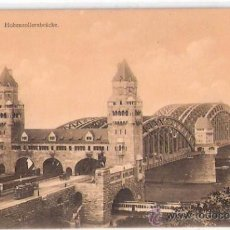 Postales: TARJETA POSTAL. ALEMANIA. KOLN A. RH. HOHENZOLLERNBRUCHE. Nº 6111. EDUARD HOLZERMANN.. Lote 27773317