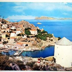 Postales: GRECIA. HYDRA. VUE VERS LA MAISON KOUNTOURIOTIS.. Lote 27799756