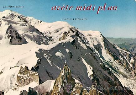 CHAMONIX- MONT BLANC- L´ALGUILLE DU MIDI (Postales - Postales Extranjero - Europa)