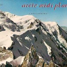 Postales: CHAMONIX- MONT BLANC- L´ALGUILLE DU MIDI. Lote 27801666