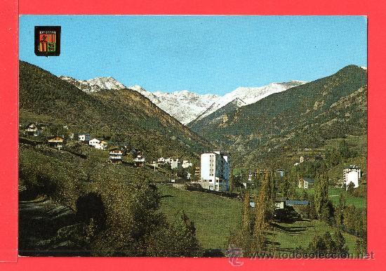 POSTAL DE VALLS DE ANDORRA VISTA DE MASSANA Nº 6225 EDITADO ESCUDO DE ORO S. A. SIN CIRCULAR (Postales - Postales Extranjero - Europa)