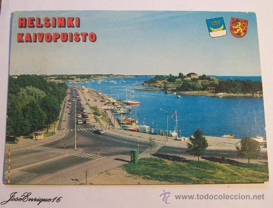 HELSINKI KAIVOPUISTO, HELSINGFORS SUOMI FINLAND. N° 2583 (Postales - Postales Extranjero - Europa)