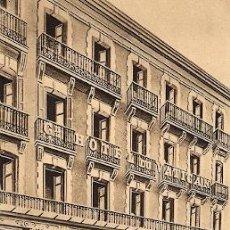 Postales: LOURDES - RUE DE LA GROTTE - GRAND HOTEL DU VATICAN. Lote 27975125