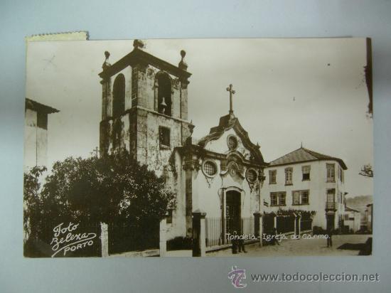 ANTIGUA POSTAL DE PORTUGAL - TONDELA - IGREJA DO CARMO - CIRCULA 1963 (Postales - Postales Extranjero - Europa)