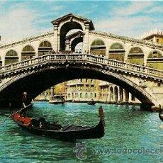 Postales: VENEZIA - PONTE DI RIALTO. Lote 28127028