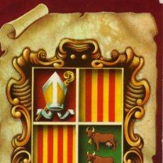 Postales: ESCUT DELS VALLS D'ANDORRA Nº 6382 COMERCIAL ESCUDO DE ORO NUEVA SIN CIRCULAR . Lote 28184709
