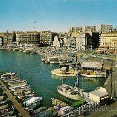 Postales: MARSEILLE (FRANCIA) - LE VIEUX PORT ET LE QUAI DES BELGES (VARIAS DOBLECES). Lote 28192978