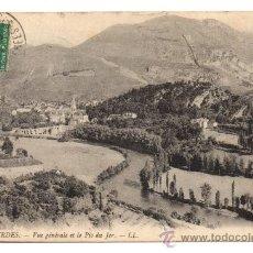 Postales: LOURDES. - VUE GÉNÉRALE ET LE PIC DU JER.. Lote 28224515