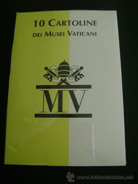 10 CARTOLINE DEI MUSEI VATICANI MV (Postales - Postales Extranjero - Europa)
