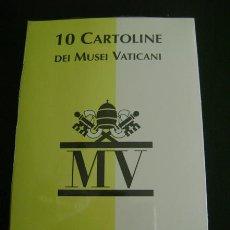 Postales: 10 CARTOLINE DEI MUSEI VATICANI MV. Lote 28294621