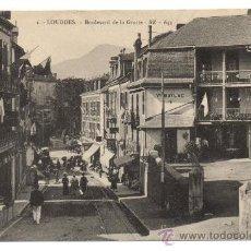 Postales: LOURDES. - BOULEVARD DE LA GROTTE. Lote 28332678