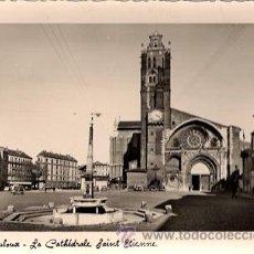 Postales: TOULOUSE (HAUTE-GARONNE - FRANCIA) - PLACE SAINT-ETIENNE. LA CATHEDRALE. Lote 28377940