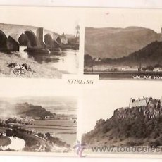 Postais: POST CARD STIRLING CASTLE WALLACE MONUMENT ESCRITA 1962 GRAN BETRAÑA. Lote 28381927