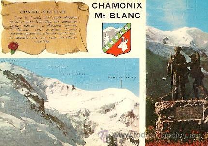CHAMONIX-MONT-BLANC (H.-S. - FRANCIA) - LE MASSIF DU MONT-BLANC (Postales - Postales Extranjero - Europa)